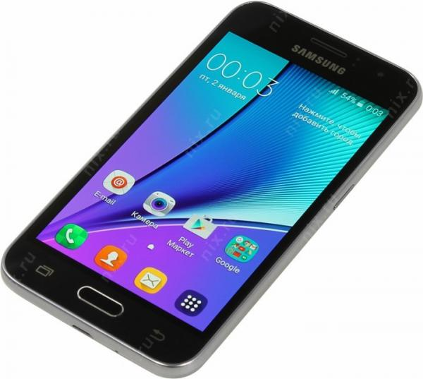 Смартфон Samsung Galaxy J1 (2016) SM-J120F/DS Black