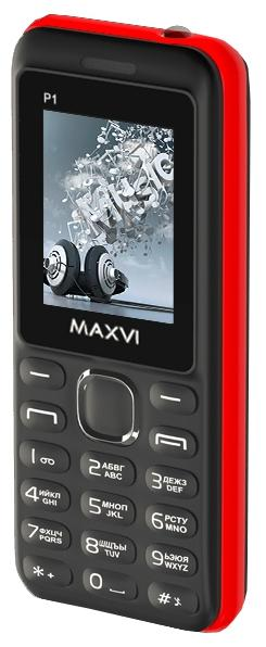 Телефон MAXVI P1 Black-Red