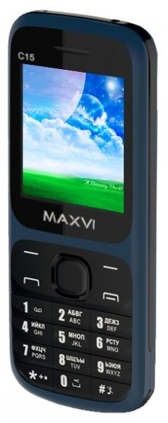 Телефон MAXVI C15 marengo-black