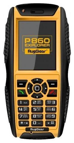 RugGear P860 Explorer YELLOW/BLACK